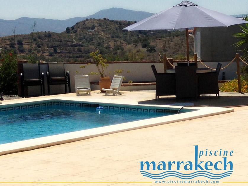 Creation logo piscine marrakech