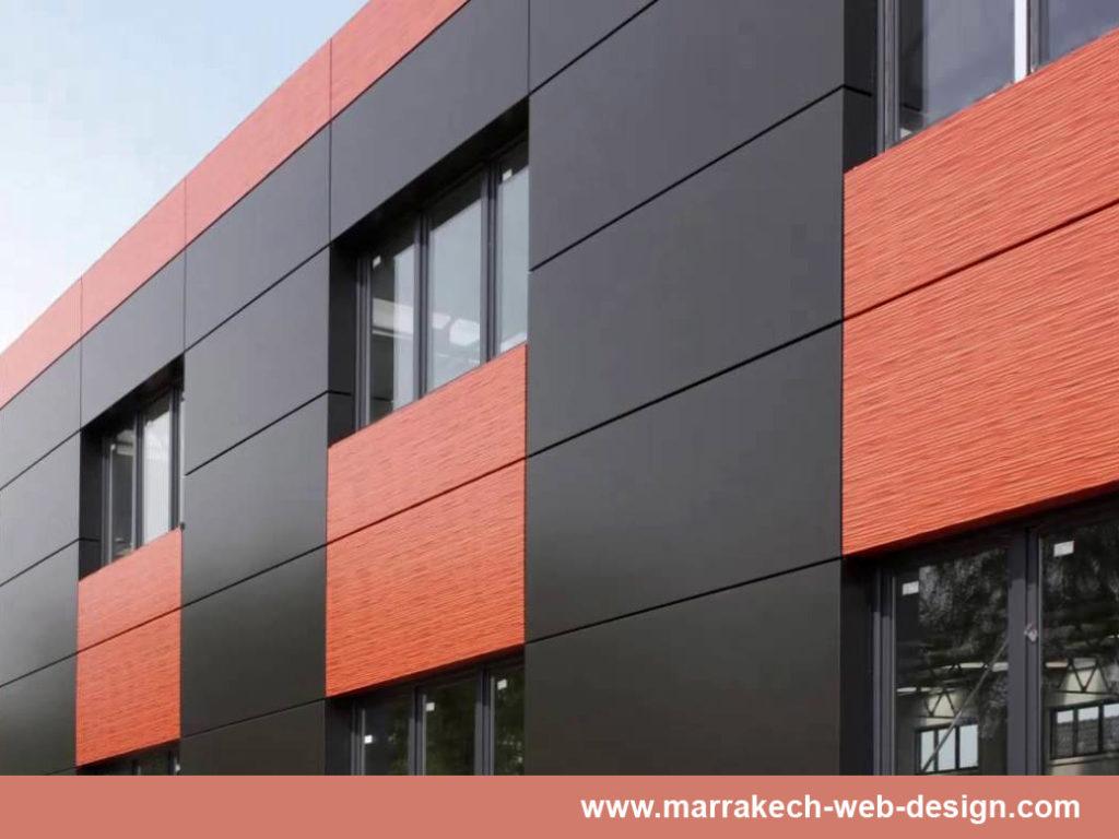 Habillage facade magasin